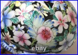 18th Century Antique Chinese Porcelain Dragon And Bat Bowl Qianlong Mark