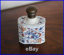18th Century Qianlong Chinese Imari Decorated Tea Caddy, 1720 to 1740