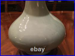 A Rare and Important Chinese Qianlong Monochrome Vase, Mark and Period