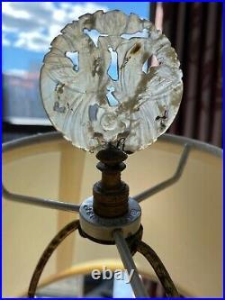 Antique Chinese 18th Century Export Porcelain Qianlong Period Vase as a Lamp