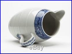 Antique Chinese Qianlong Barrel Shaped Jug 18th C