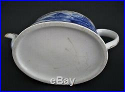 Antique Chinese Qianlong Teapot 18th Century Porcelain With Under Plate
