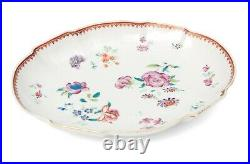 Antique Qianlong /Jiaqing Chinese Porcelain Famille Rose Hand Painted Dish