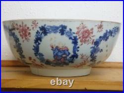 Chinese Antique Qianlong Big Porcelain Bowls china 18TH CENTURY china Export por