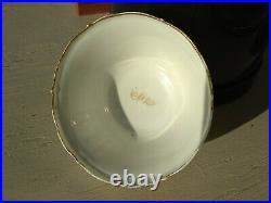 Chinese Porcelain Bowl Eggshell Sepia Mandarin Qianlong
