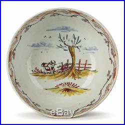 Chinese Qianlong Overdecorated Porcelain Bowl 18th C