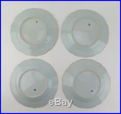Set of 14 Chinese Qing Qianlong blue and white porcelain export plates c1740